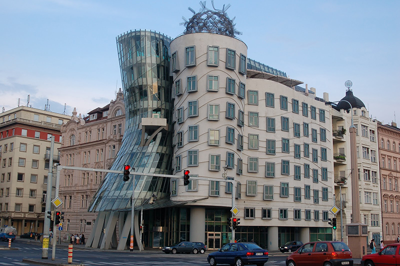 Casa Danzante en Praga