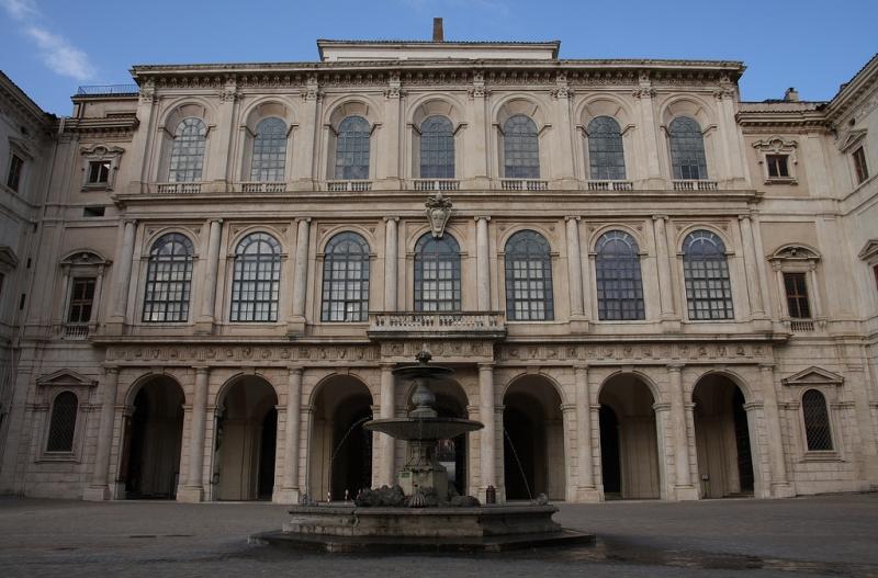 Galería Nacional de Arte Antiguo en Roma