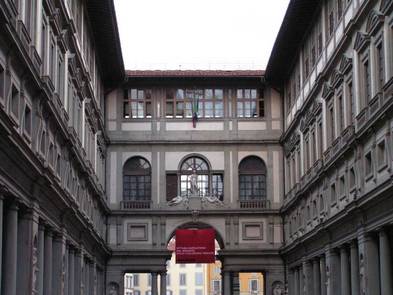 Galería Uffizi en Florencia