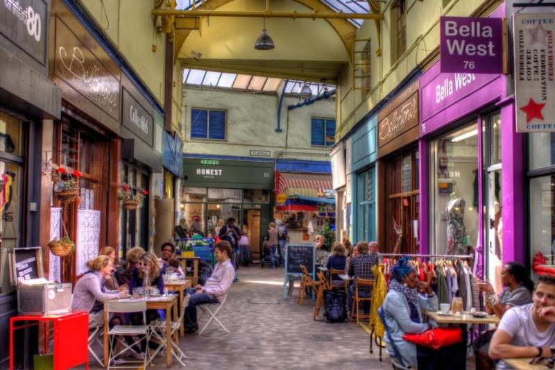 Mercadillo Brixton de Londres