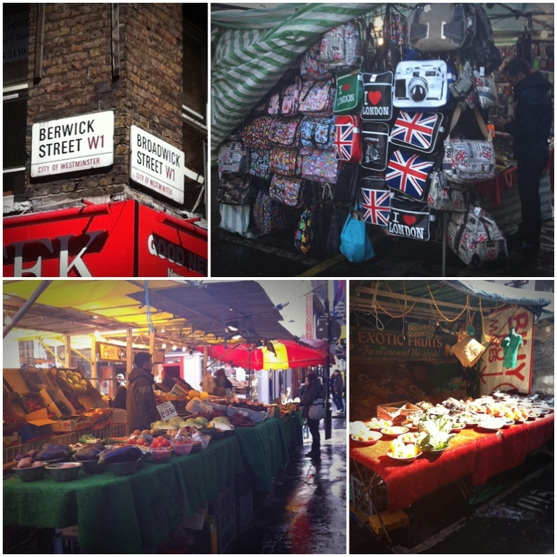 Mercadillo de Bewick Street de Londres