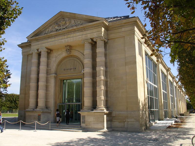 Museo de L'Orangerie en París