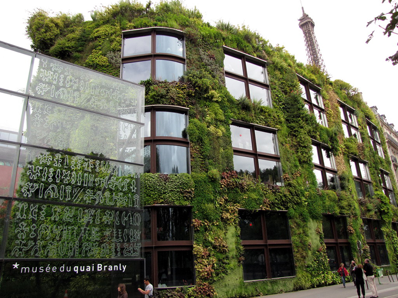 Museo del quai branly de par s for Jardin quai branly