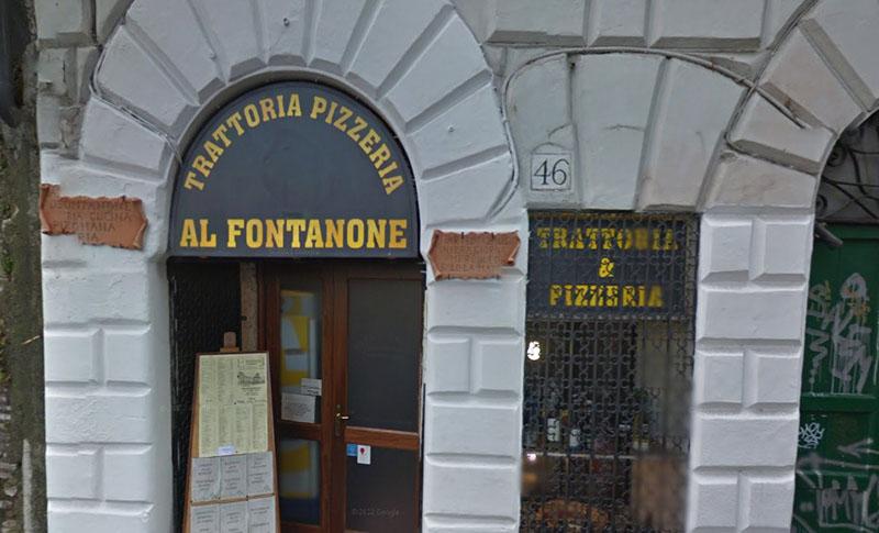 Pizzeria Al Fontanone en Roma