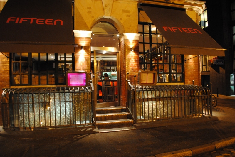 Restaurante Fifteen en Londres