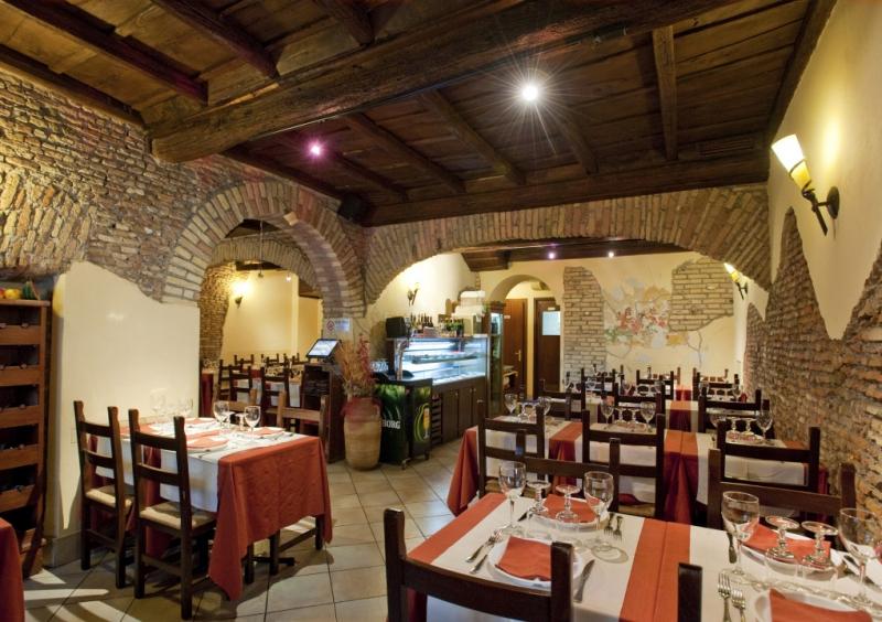 Restaurante Hostaría Isidoro en Roma