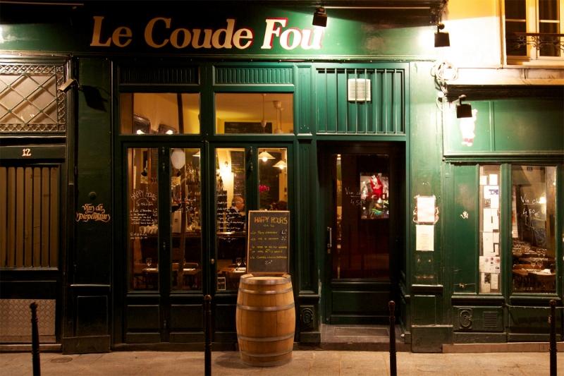 Restaurante Le Coude Fou en París
