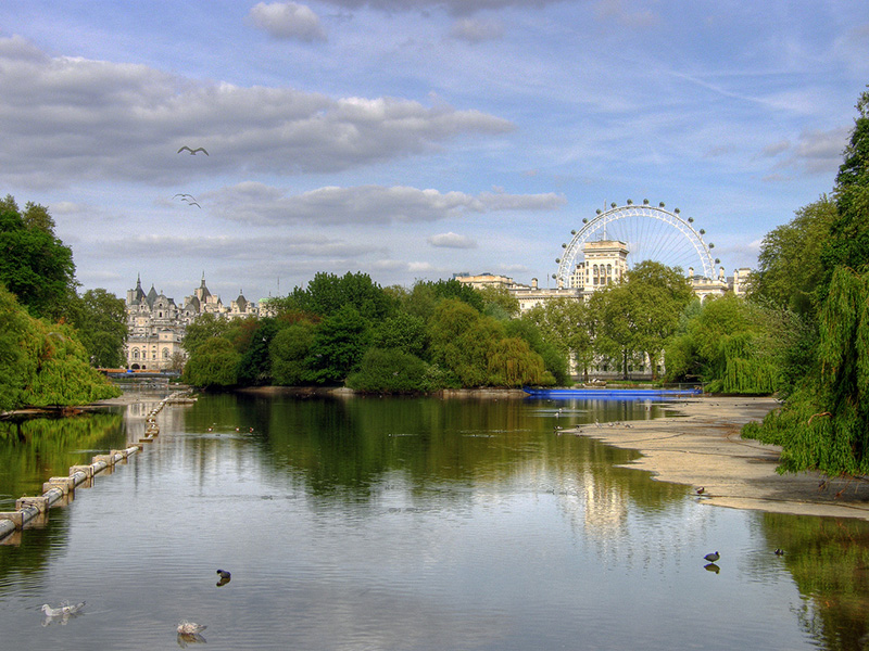St. James Park de Londres