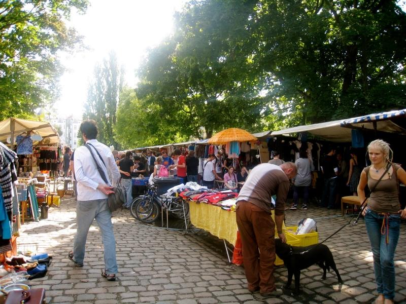 Mercadillo Flohmarkt am Mauerpark de Berlín