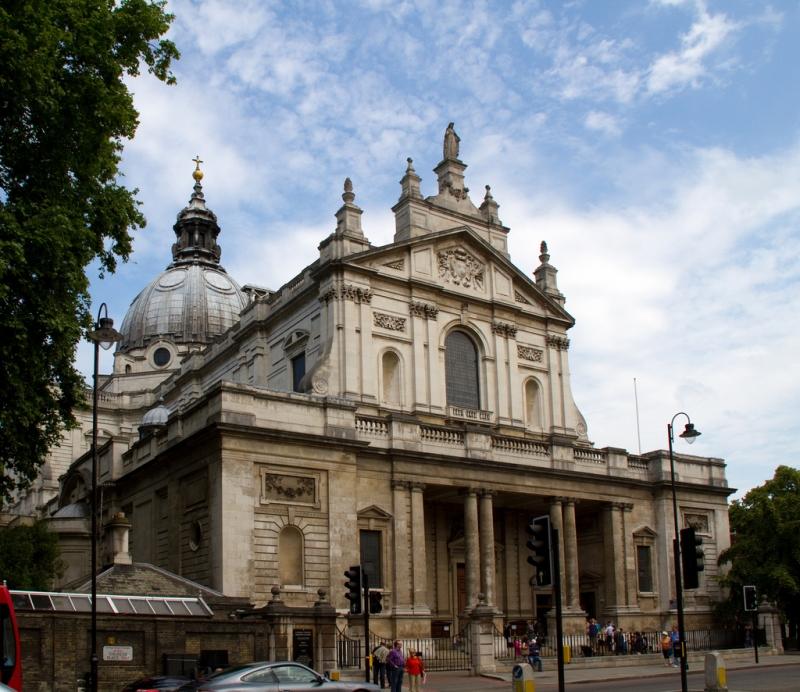 Iglesia Brompton Oratory de Londres