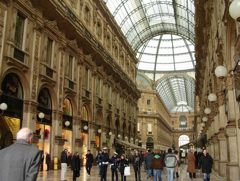 Cuadrilatero de la Moda en Milán