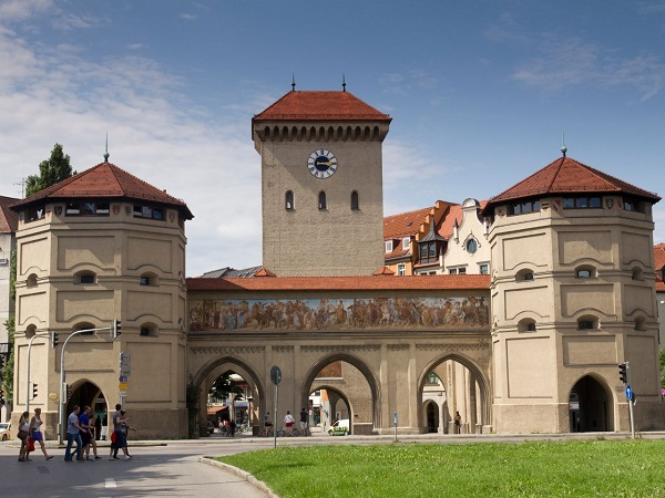 Puerta de Isar, Múnich