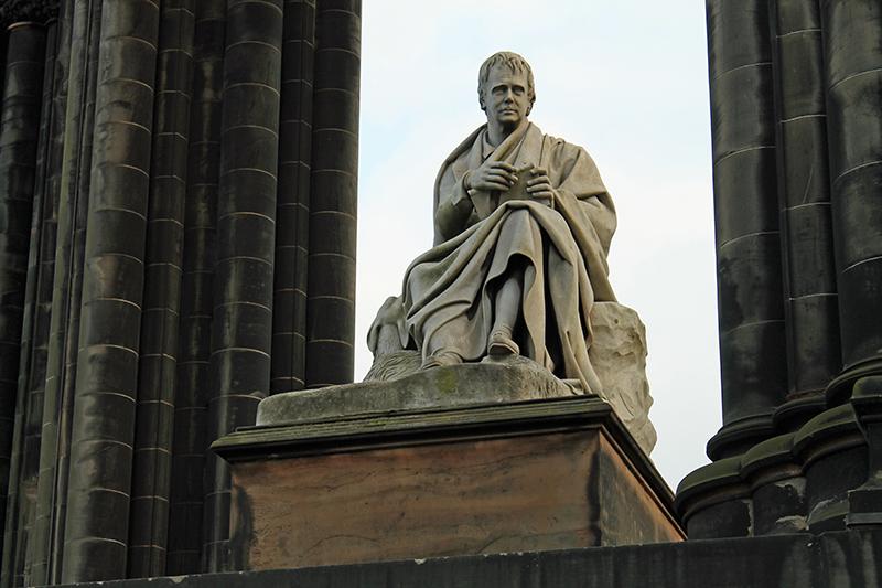 Sir Walter Scott en Edimburgo