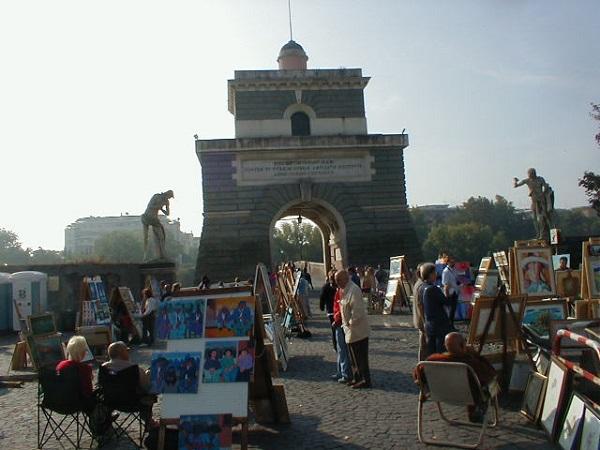Mercado Ponte Milvio, Roma