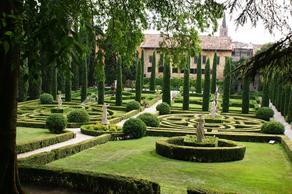 jard n giardino giusti de venecia
