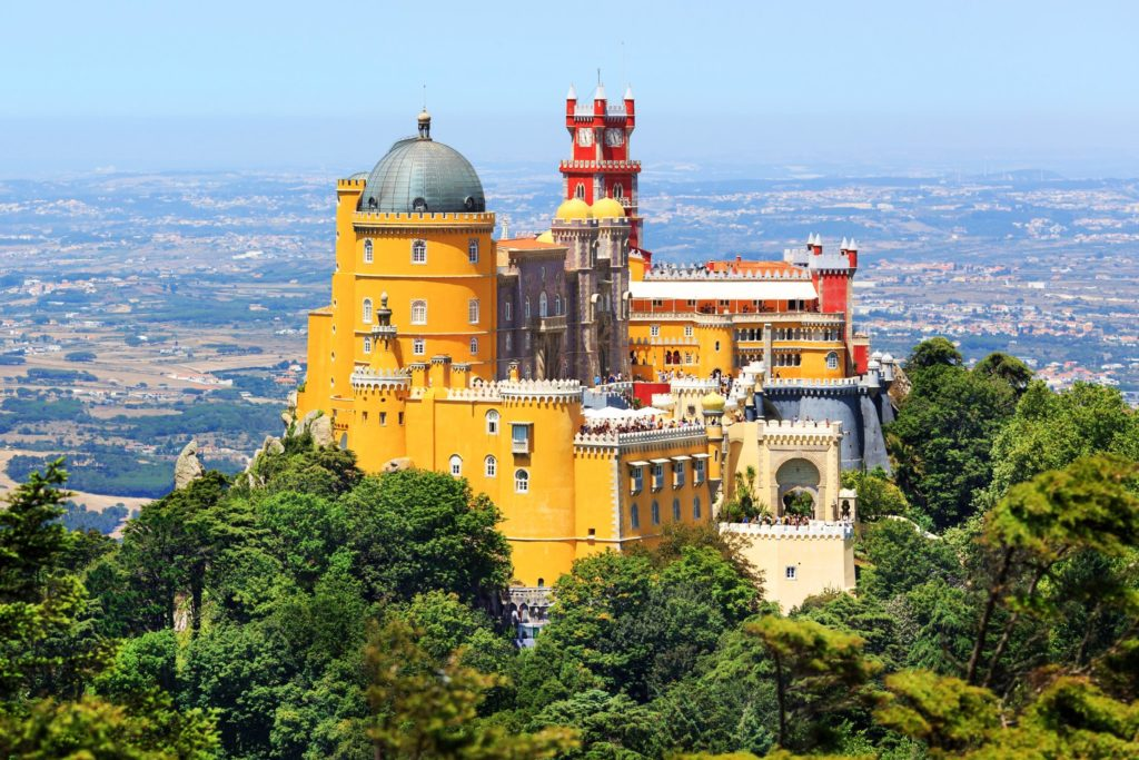 Pena Palace in Sintra will amaze you with its intricate architecture
